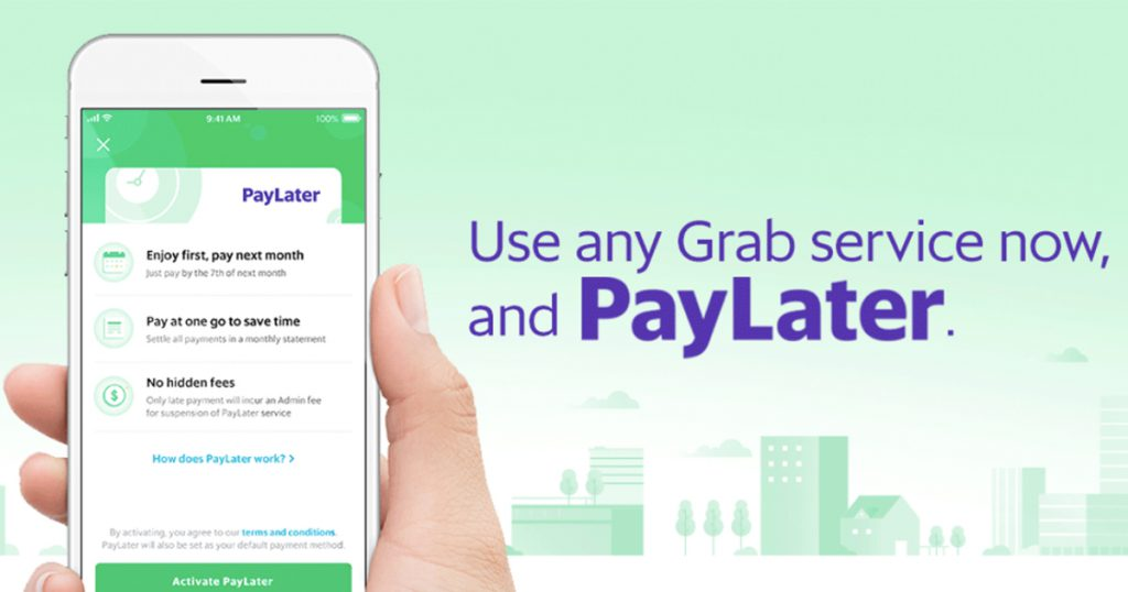 Grab Launches 'Pay Later': Pay For Grab Services At The End