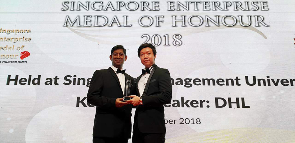 intercorp singapore business leading 100 relied on SMEs
