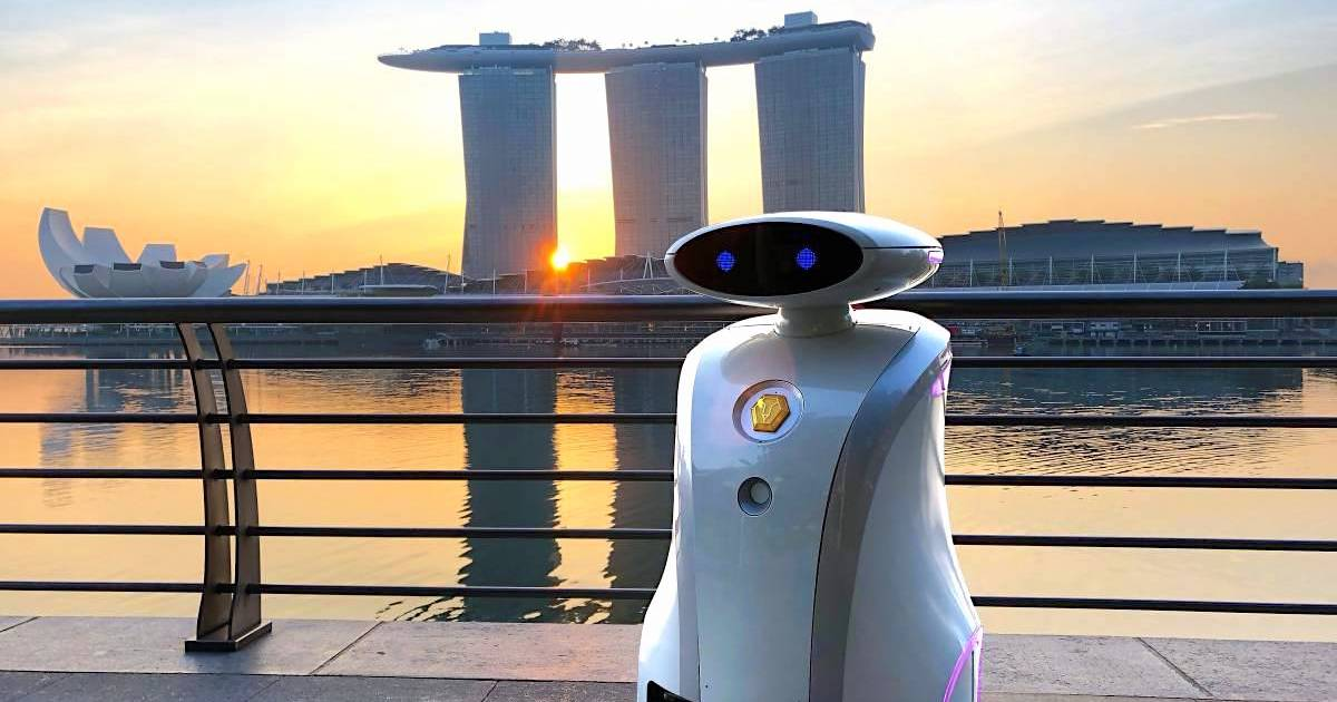 S'pore Firm LionsBot To Deploy 300 Cleaning Robots By March 2020