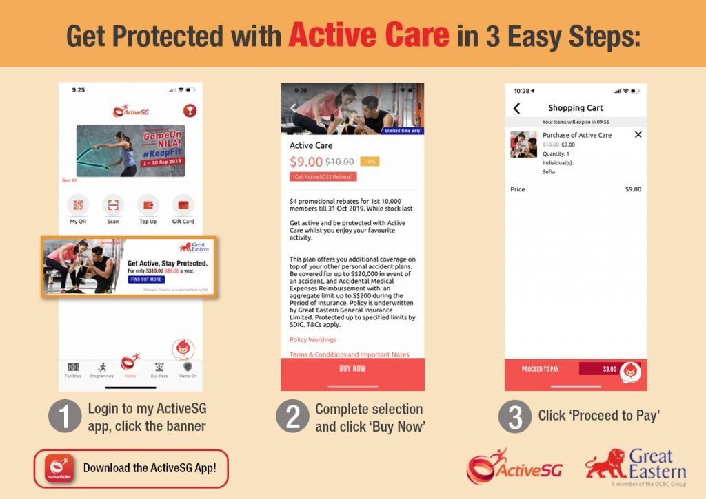 great eastern activesg insurance singapore