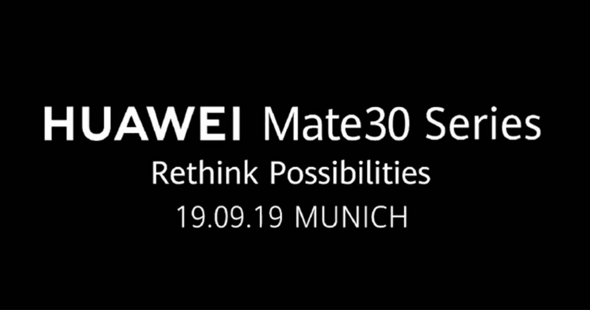 Huawei's banned Mate 30 Pro may offer Google apps on the side