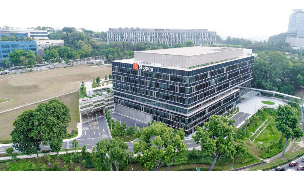 shopee new hq singapore science park drive