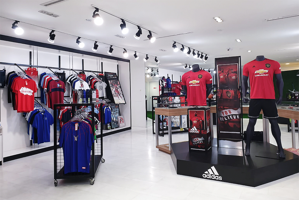 retail store visual merchandising singapore premier football