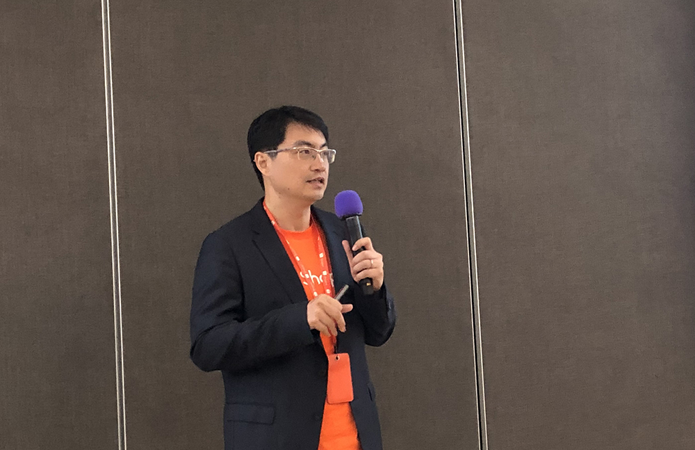 shopee chief commercial officer zhou junjie singapore
