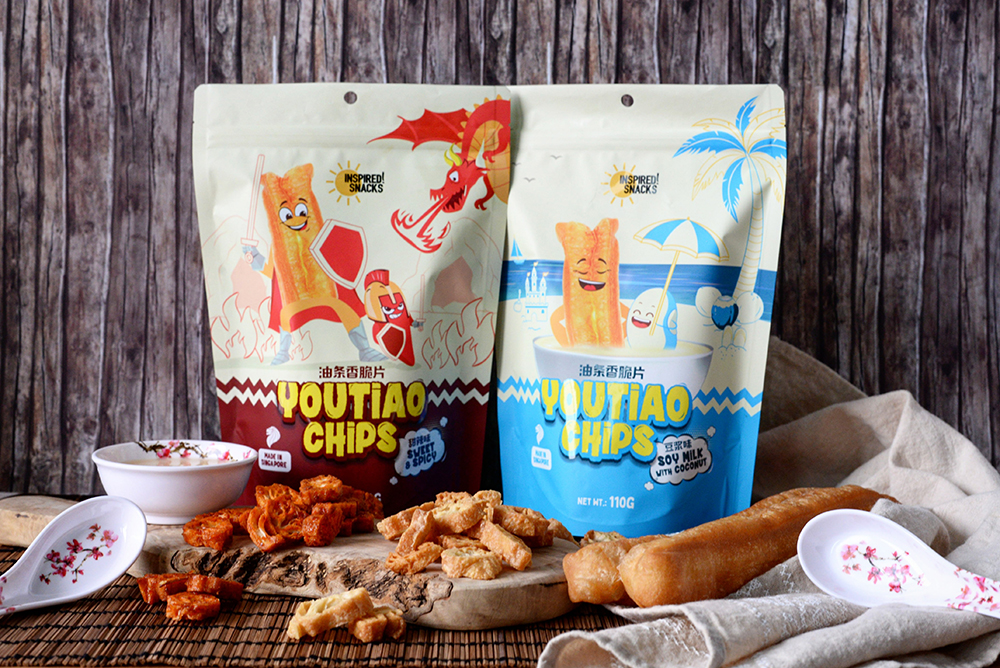 Inspired Snacks You Tiao Chips Singapore