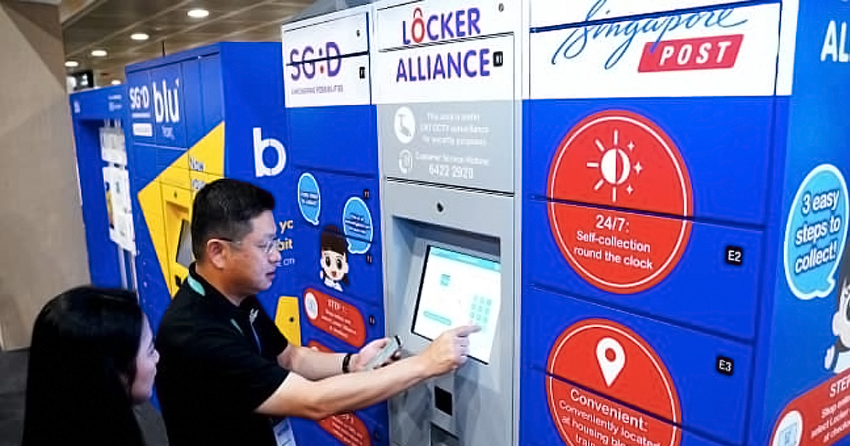 IMDA will install 1,000 parcel locker stations near every HDB flat in Singapore by end 2022