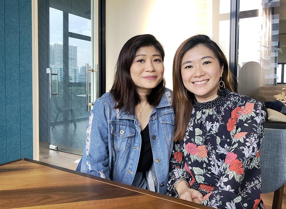 Female entrepreneurs in Singapore: Nikki and Alison Chua, co-founders of Retailers' Market (Singapore)
