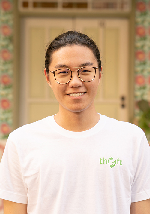 Damien Poh, co-founder of Thryft Singapore