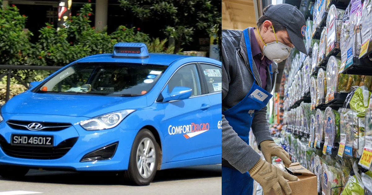 ComfortDelGro taxis will deliver groceries for RedMart