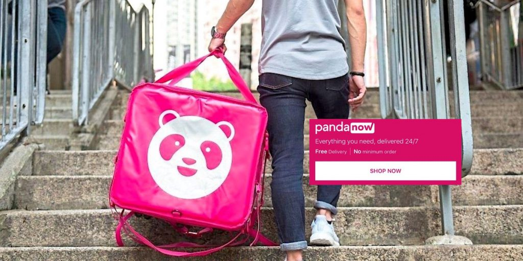 foodpanda delivery pandanow