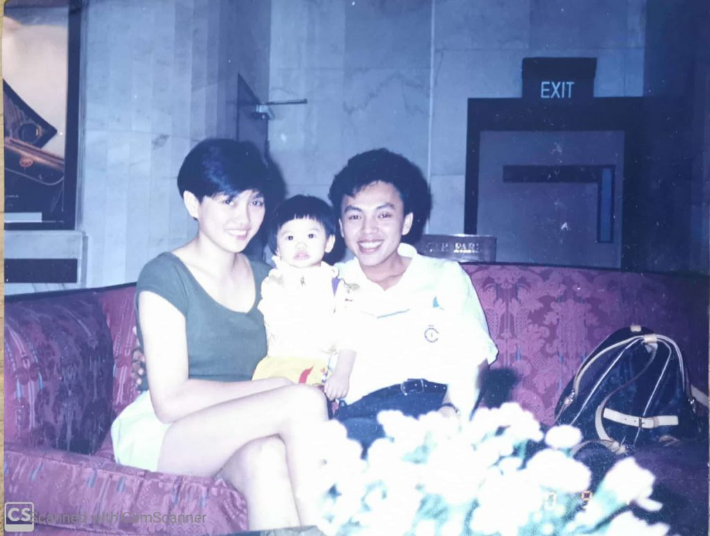 Sandy Tan, Elizabeth Chan family photo