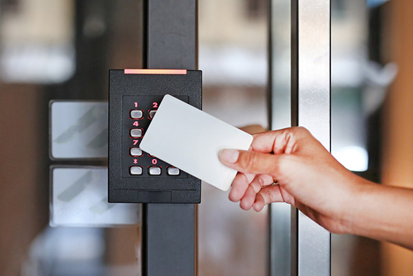 Key card entry system office