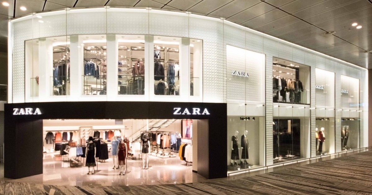 Zara's Parent Company To Close Up To 1,200 Stores Globally By 2021