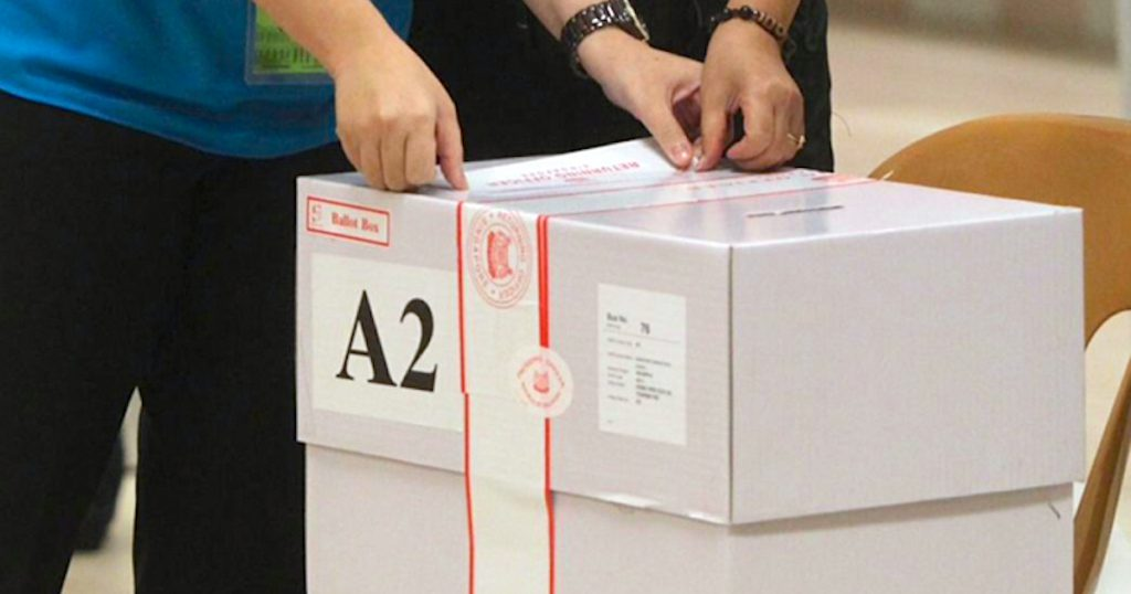 voting general election singapore