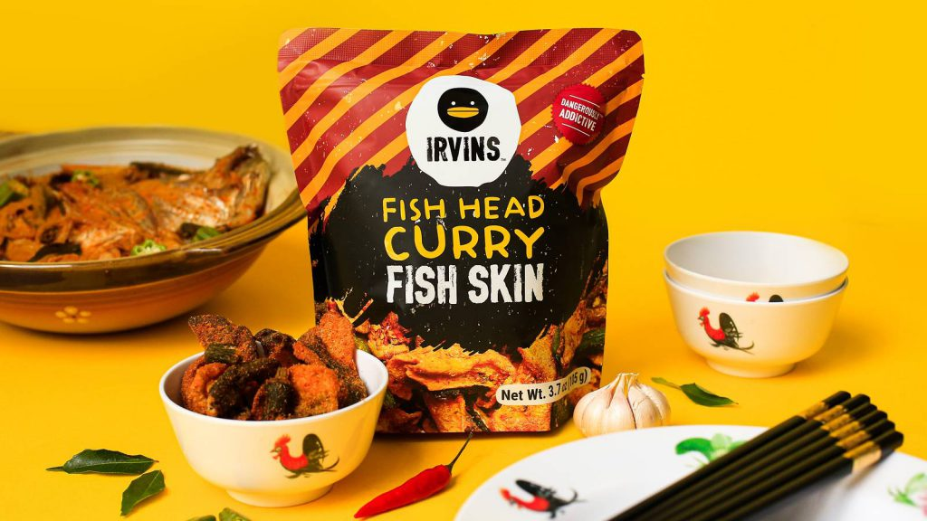 irvins fish head curry fish skin