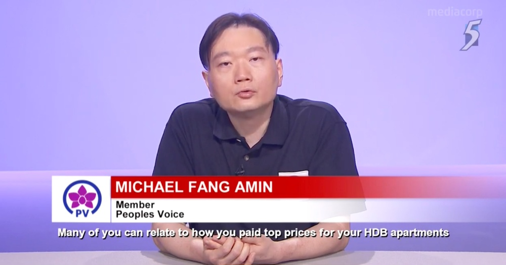 Michael Fang Amin Peoples Voice PV Party General Elections 2020