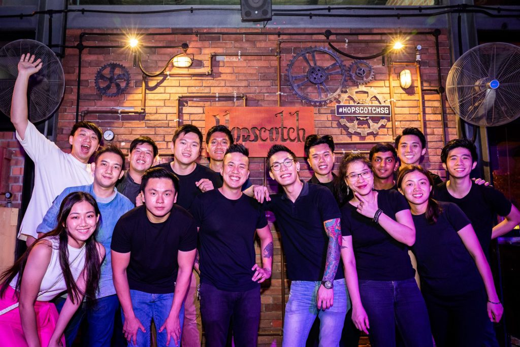 hopscotch bar team singapore