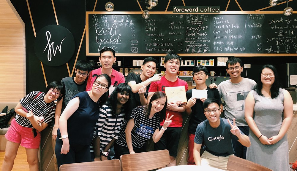 Foreword Coffee Roasters Team