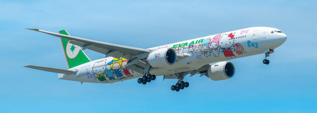 Hello Kitty Plane eva airlines