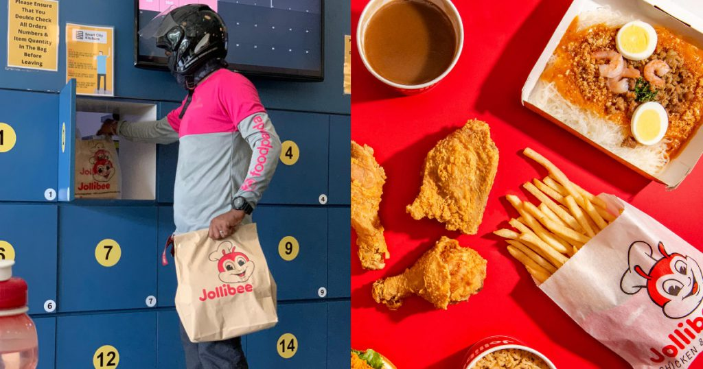 Jollibee Cloud Kitchen Grab Foodpanda Deliveroo