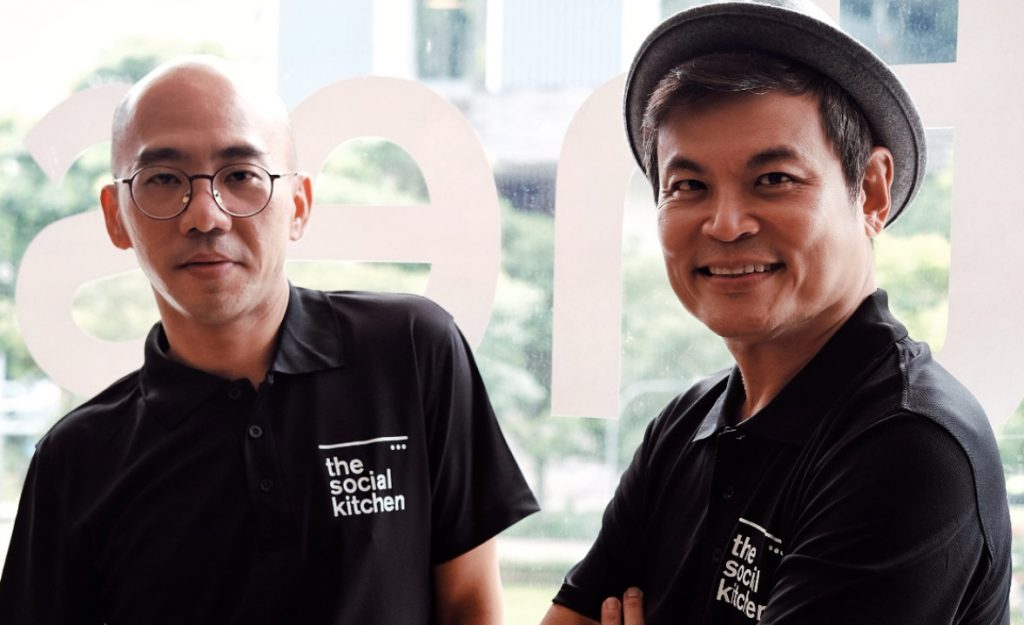 The Social Kitchen Social Enterprise Co Founders alvin yapp ang kian peng