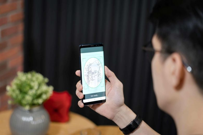 DBS digibank facial recognition singpass nric id