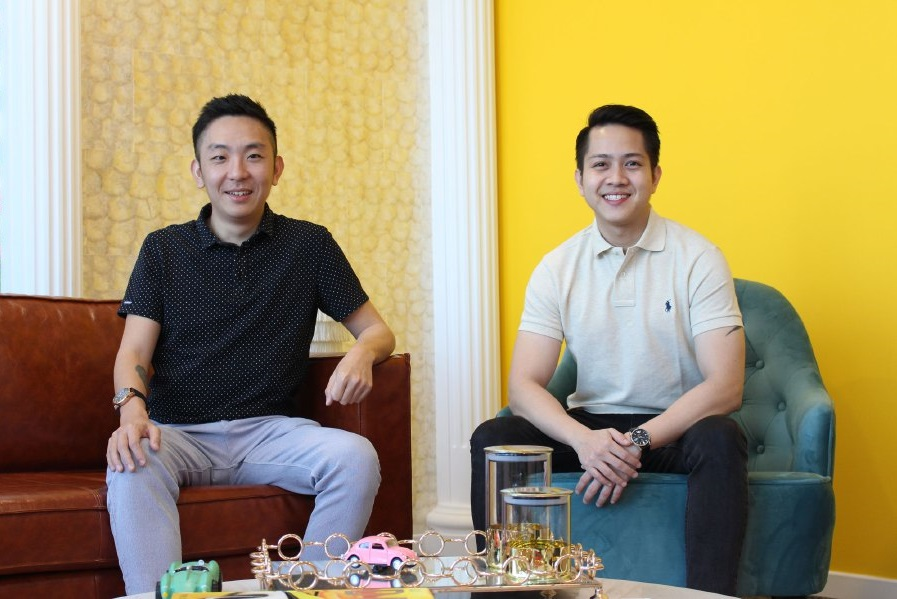 carsome co-founders eric cheng and jiun ee teoh
