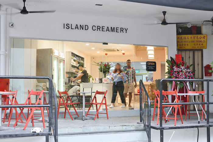 island creamery holland village closed