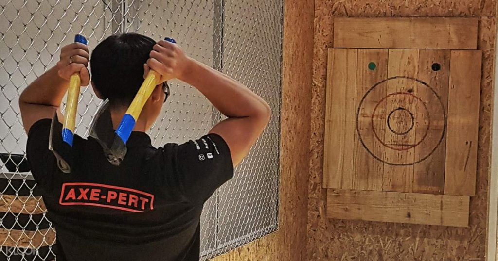 axe throwing axe factor singapore