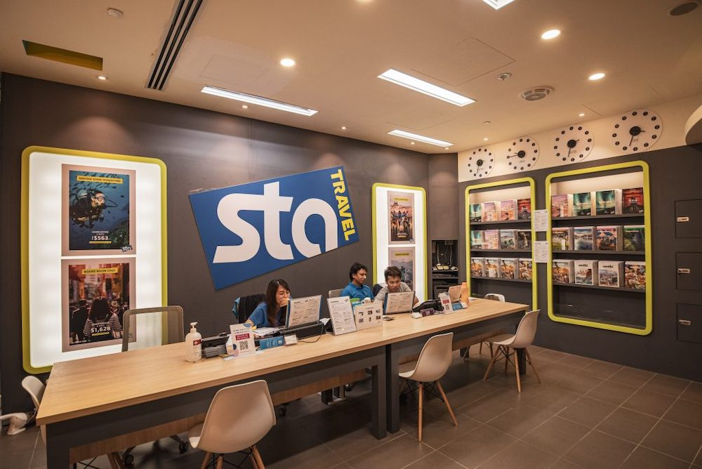 STA travel bankrupt leaving singapore