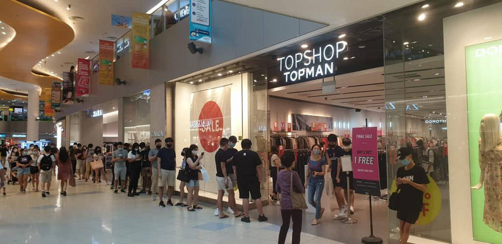 topshop topman closing down