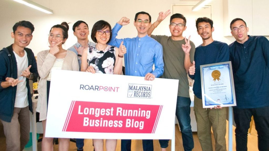 Raw Points Business Blog Recognised By Malaysia Book Of Records