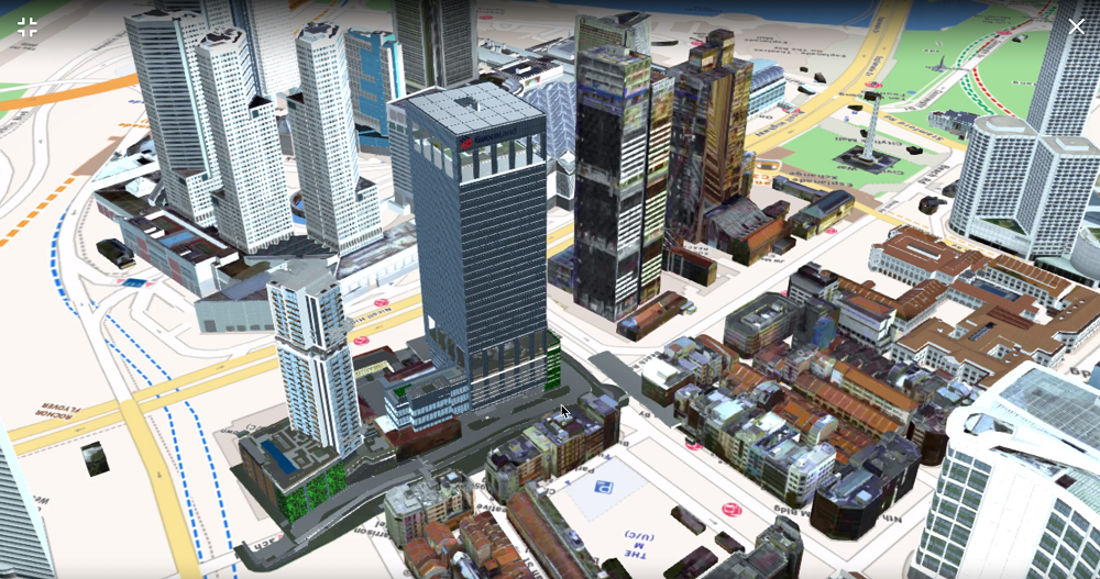 3D view of Midtown Modern