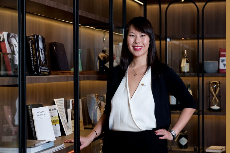 michelle yong woh hup holdings, aurum
