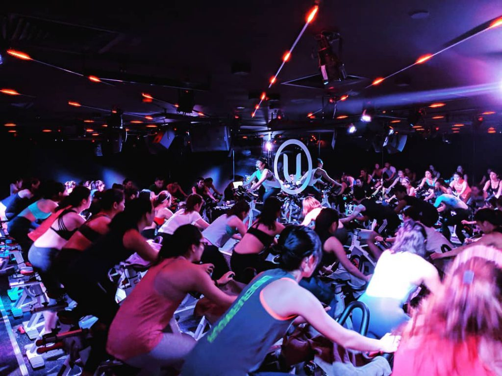 zouk hosting spin classes