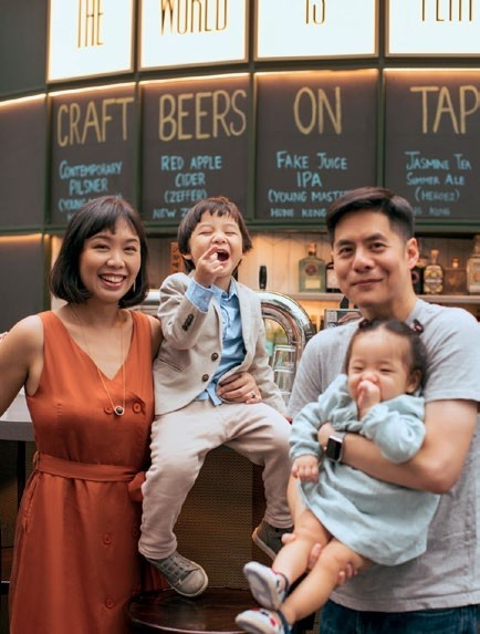 Howard Lo and family