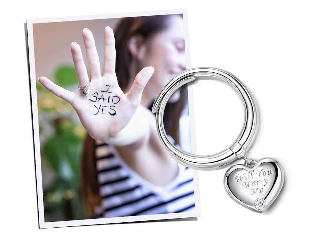 love & co pre engagement ring