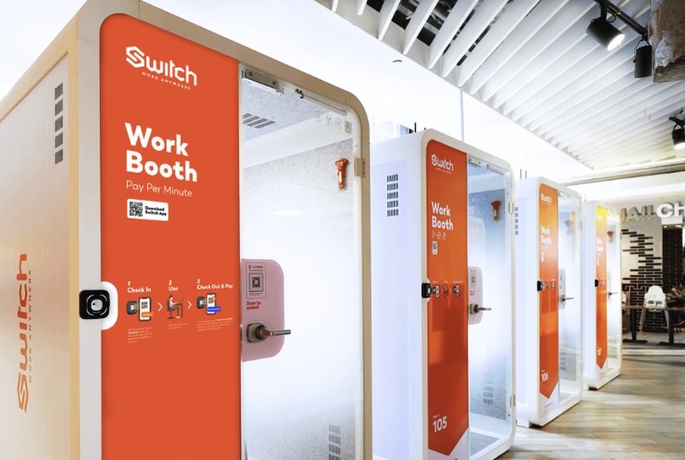 switch work booth singapore