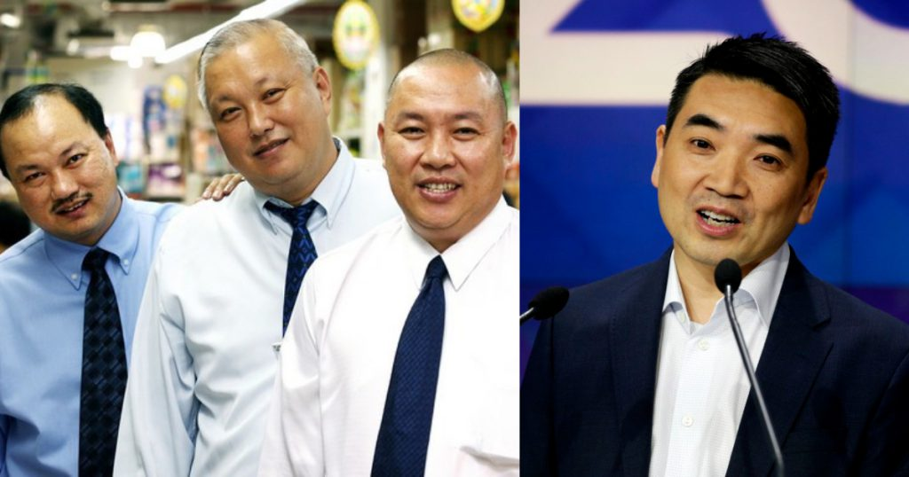 Lim Brothers of Sheng Siong and Eric Yuan