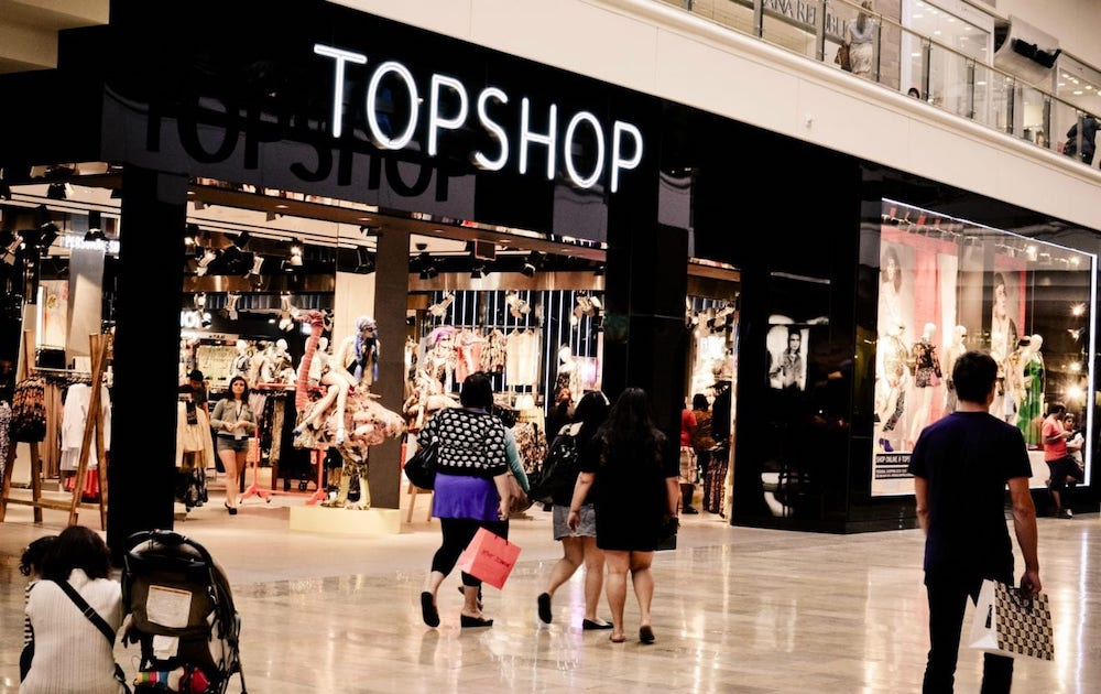 topshop businesses that closed 2020