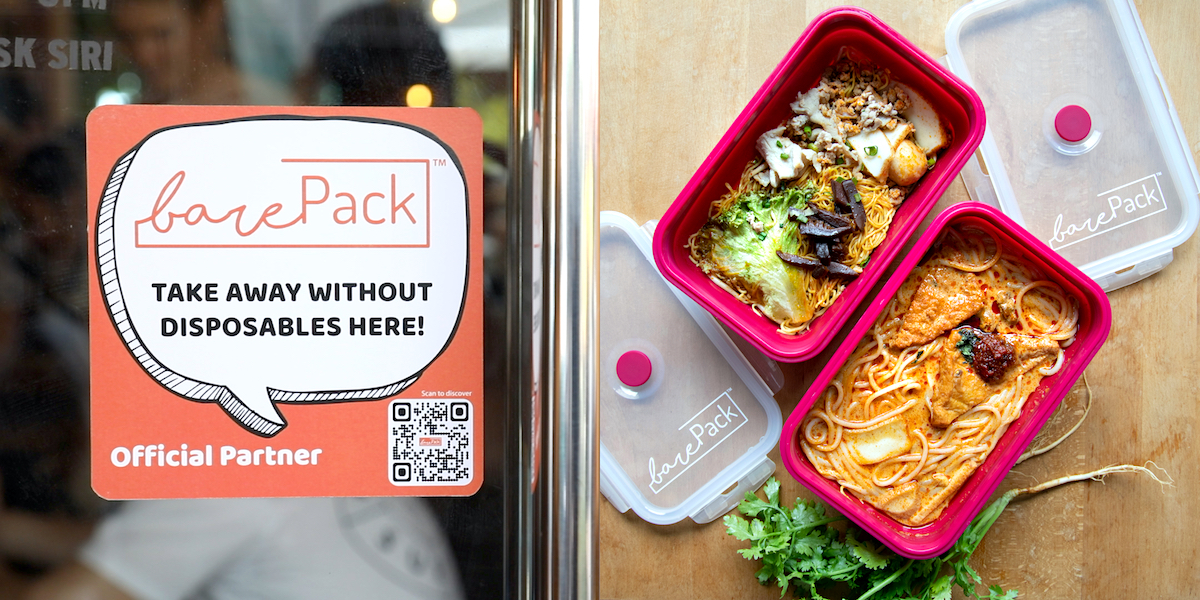 barepack reusable containers singapore