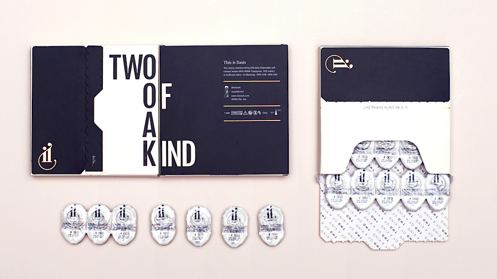 two of a kind contact lens subscription