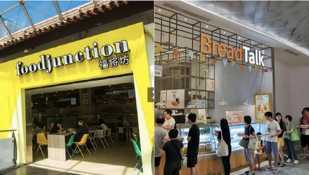 food junction and breadtalk