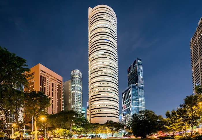 axa tower singapore