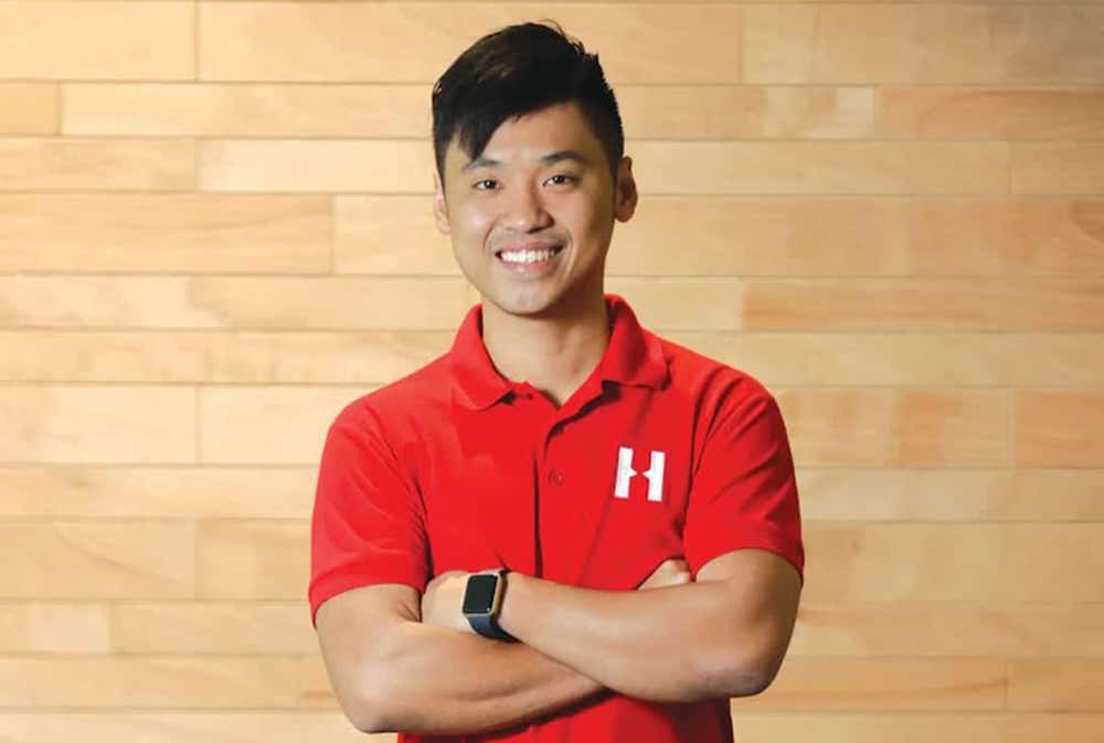 Alvin Ea, co-founder and CEO of Haulio