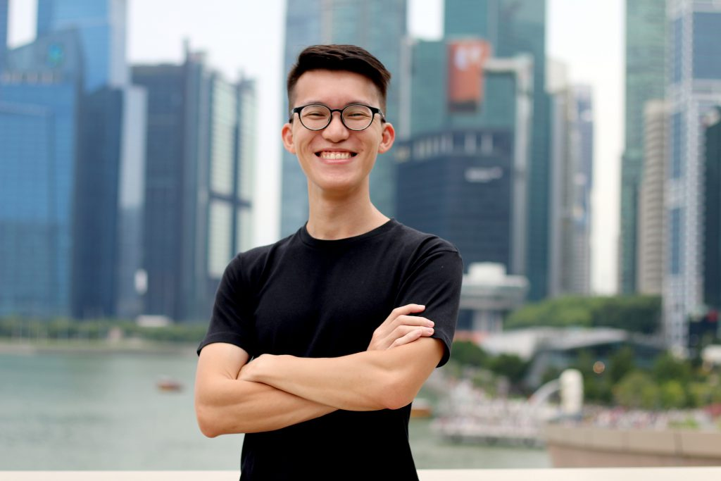 Kenny Choy, co-founder of Sqkii