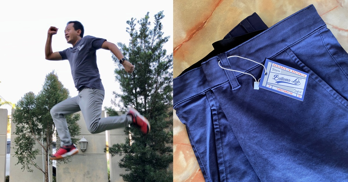This Malaysian Co Designed Stretchable & Breathable Pants To Counter The Local Weather
