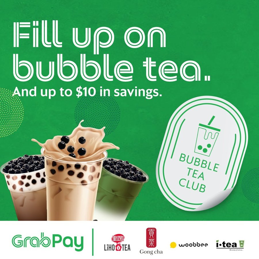 grab bubble tea club