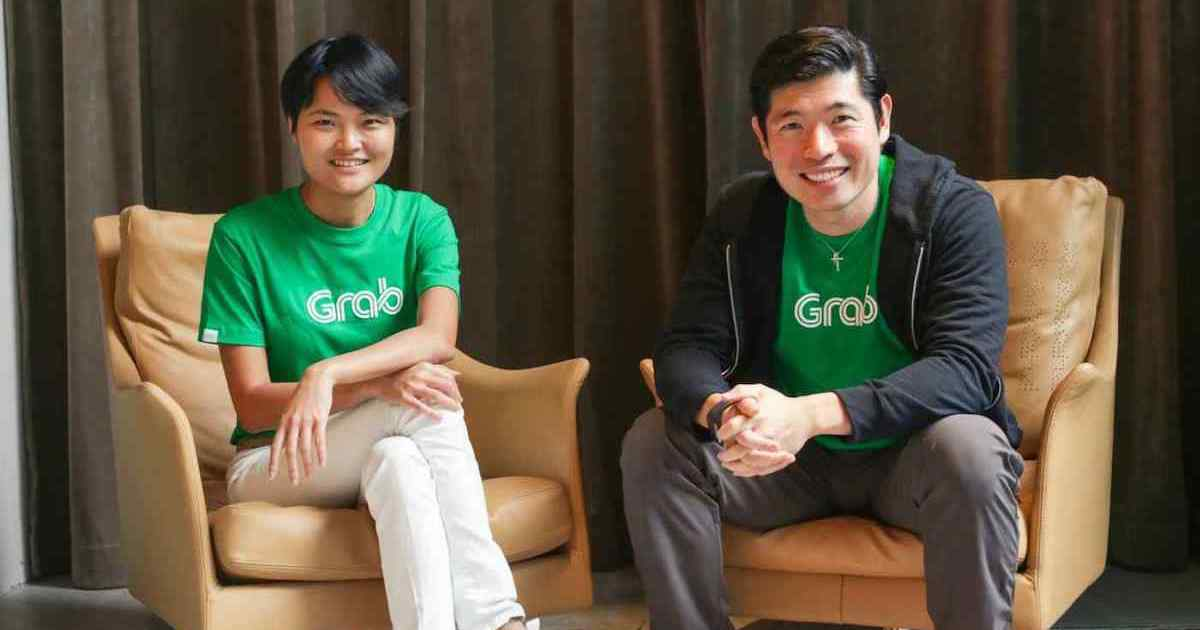 grab founders anthony tan and tan hooi ling