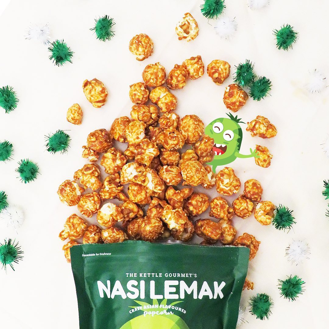 the kettle gourmet nasi lemak popcorn